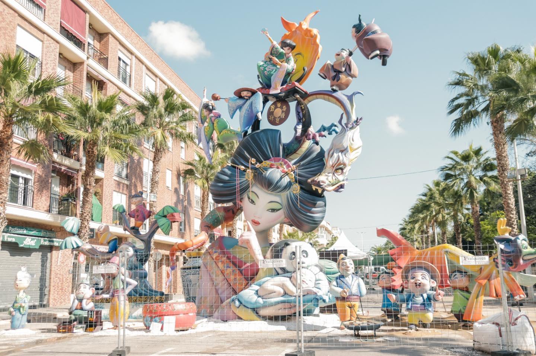 falla El Raval, primer premio fallas Catarroja 2021