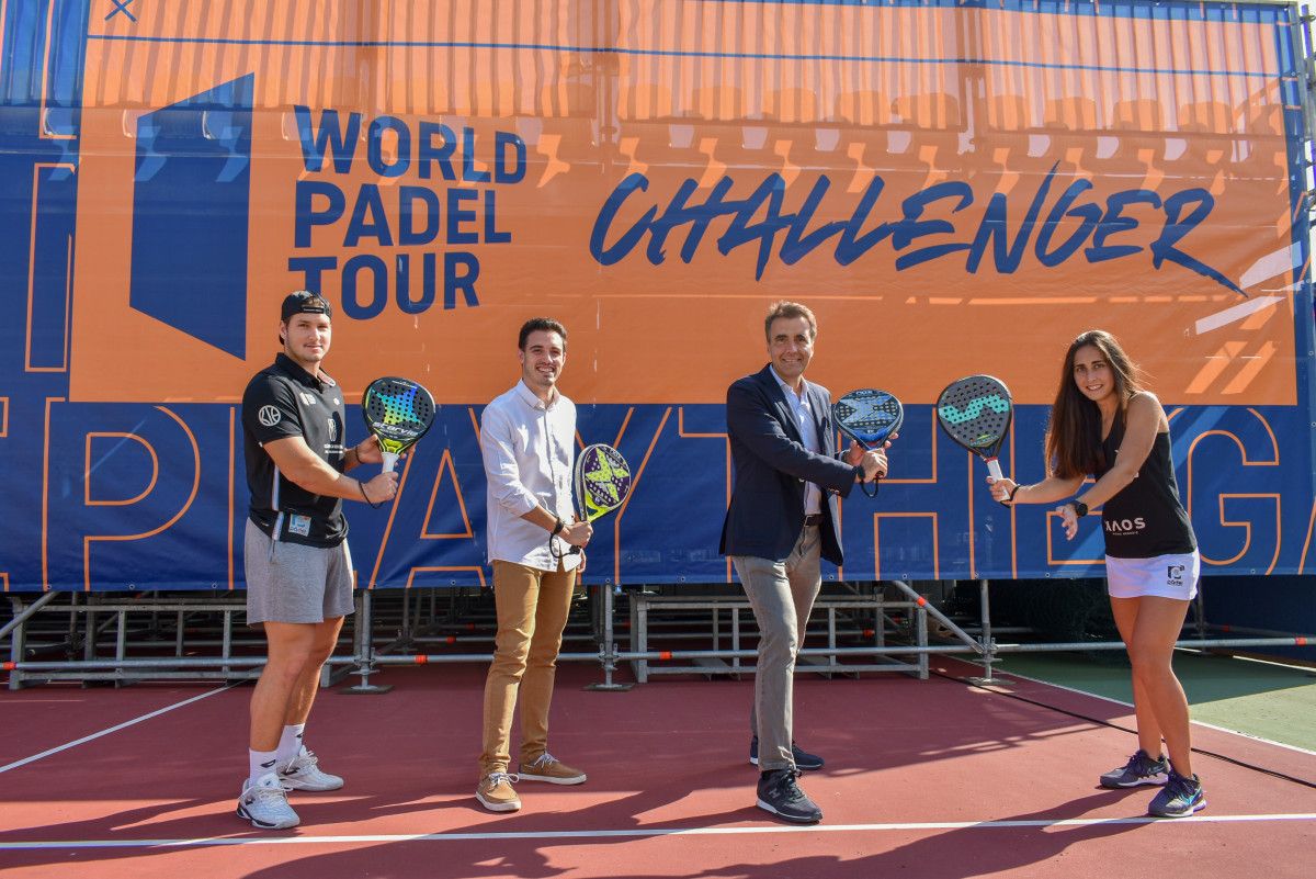 presentación torneo Challenger padel Alfafar