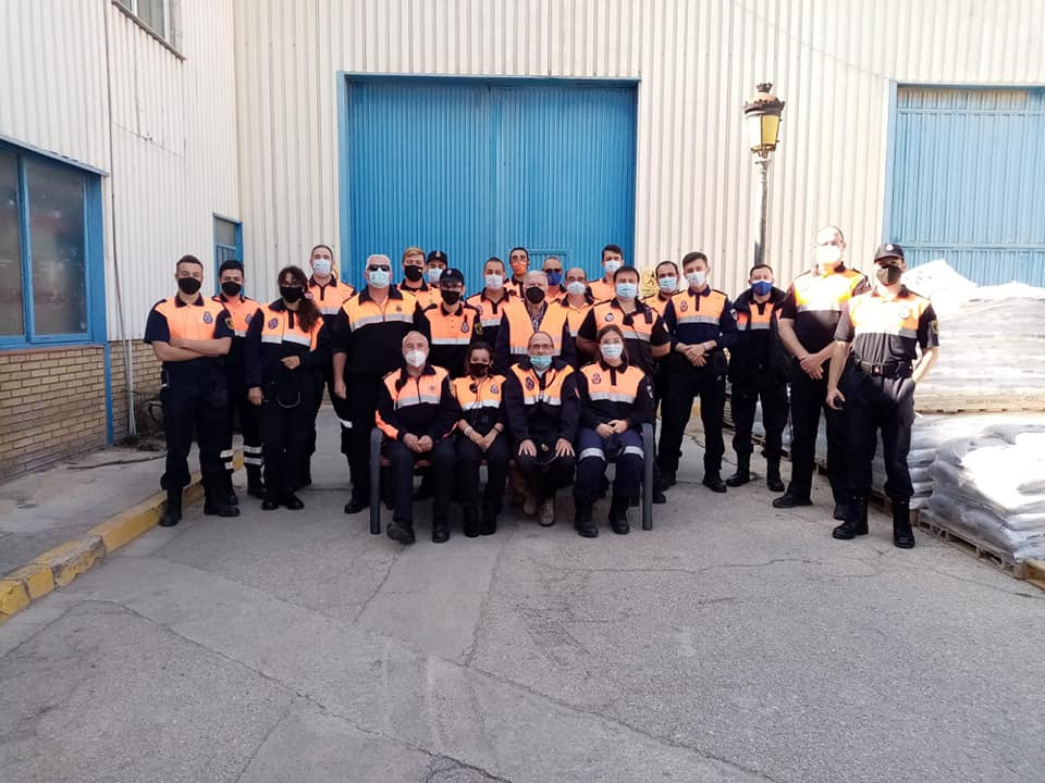 agrupación de Protección Civil en Xirivella