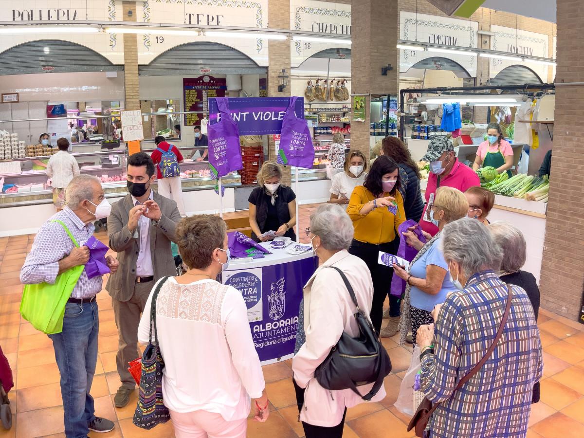 Comercios de Alboraya contra la Violencia de Género