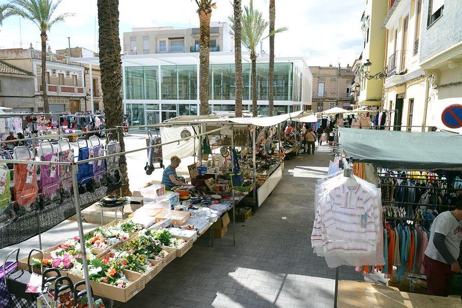 mercado ambulante Paiporta